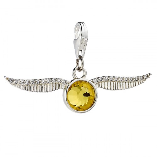 Golden Snitch Clip on Charm